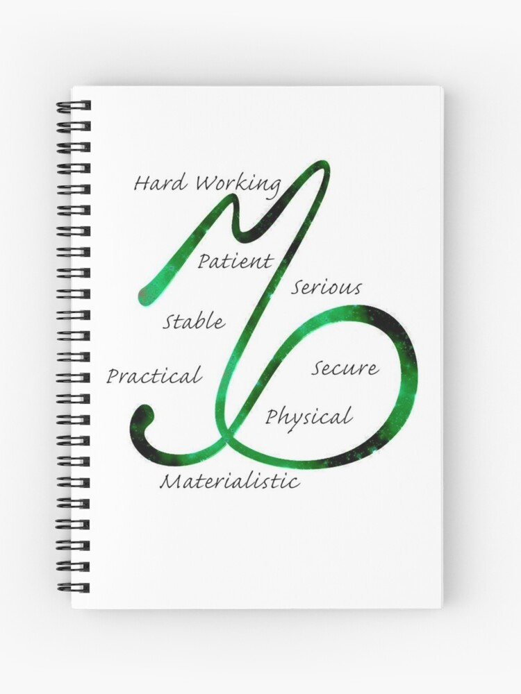 Capricorn Traits | Spiral Notebook