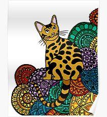 Póster MANDALA CAT3