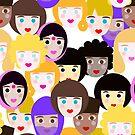 Schwestern! Zusammenkleben! @Fahring #EmpowerCreativity @redbubble von mirimo