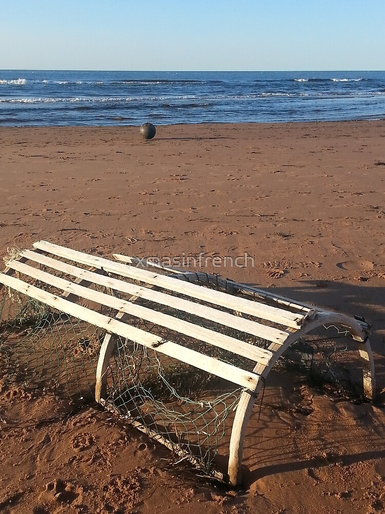 Lobster trap trapped by xmasinfrench