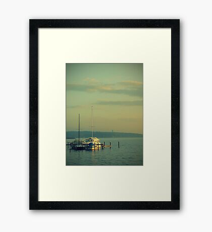 Yachting... Framed Print
