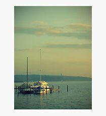 Yachting... Photographic Print