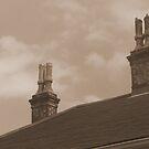 NOLA Chimneys - sepia by StephenieRenee