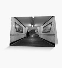 Metro de Paris - Subway at Paris Greeting Card