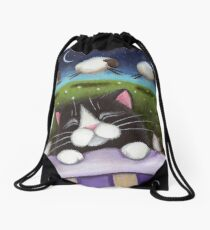 Sheep Dreams Drawstring Bag