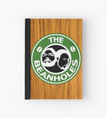 The Beanholes Woodgrain Hardcover Journal