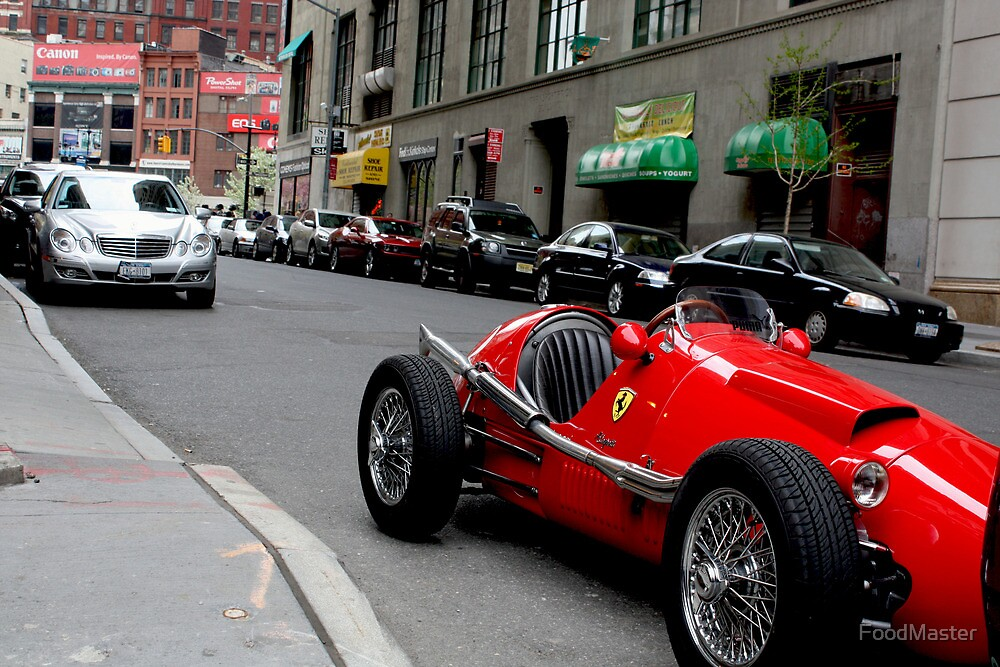Old school ferrari