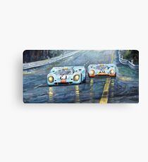Porsche 917 K GULF Spa Francorchamps 1970 Canvas Print