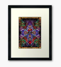 Vision with Tulips Framed Print