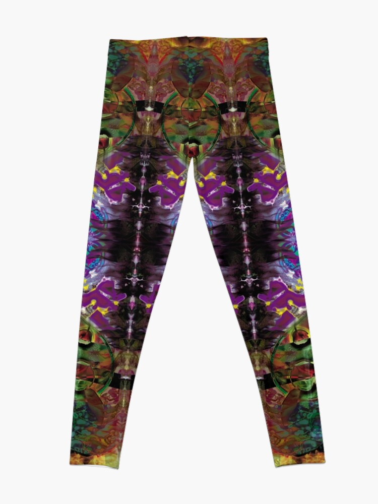 Alternate view of Vision with Tulips Leggings