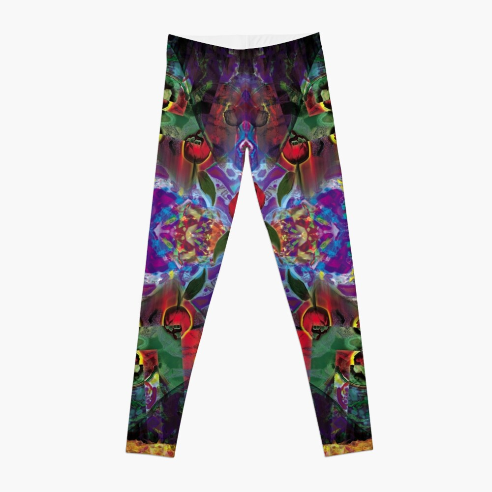 Vision with Tulips Leggings