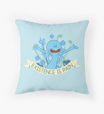 Existence is Pain Throw Pillow