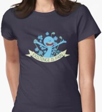 Existence is Pain Women's Fitted T-Shirt