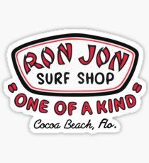 Pegatina RJ Surf Shop Cocoa Beach