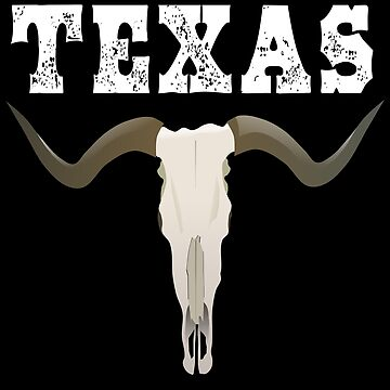 Texas Longhorn Skull  by cnkna