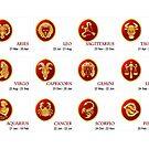 Dates for Zodiac Items by DancingGeek