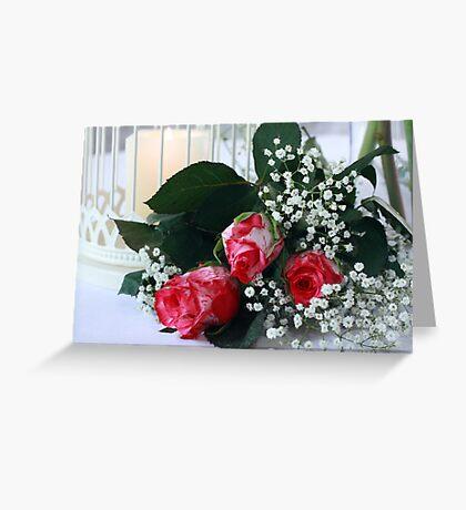 Pink Romance Greeting Card