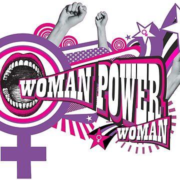 WOMAN POWER = POWER WOMAN by annaOMline
