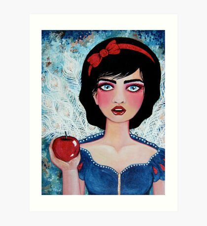 The Red Apple Art Print