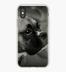 Eine Boxer-Profil ~ Boxer Dogs-Serie iPhone-Hülle & Cover