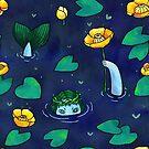 Lady of the pond by shizayats