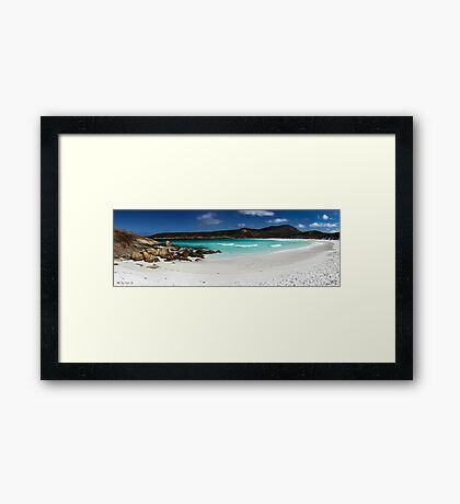 Hellfire Bay Framed Print