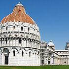 Square of Miracles - Pisa by MikeSquires