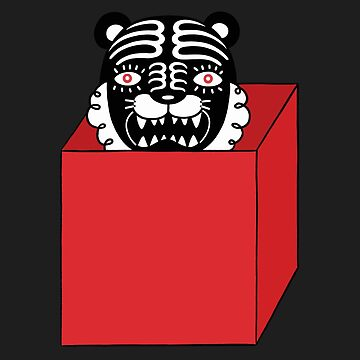 Black tiger is in the red box  by RYURAKUDO