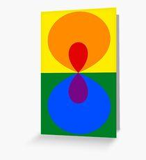 Simplistic Pride Greeting Card