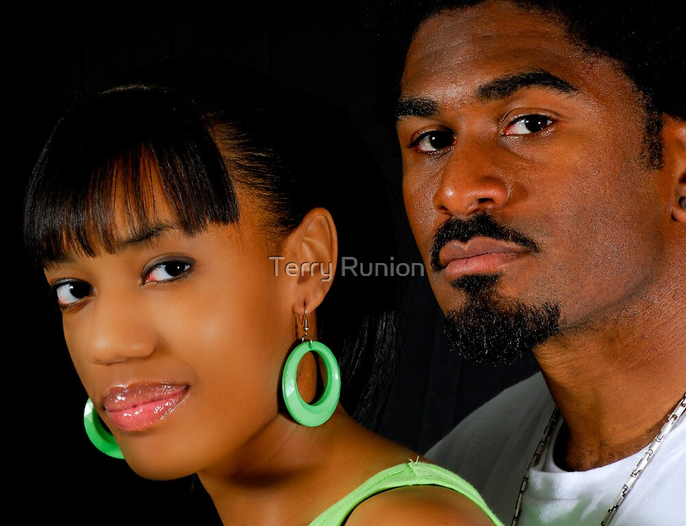 African American Couple by Terry Runion