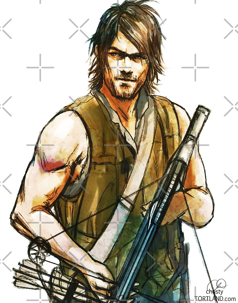 Daryl Dixon by Christy Tortland