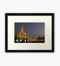 Yangon Framed Print