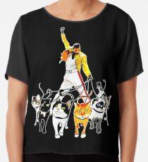 662bfab6fb02a Mercury-And-His-Cats-Freddie-Funny-T-Shirt Chiffon