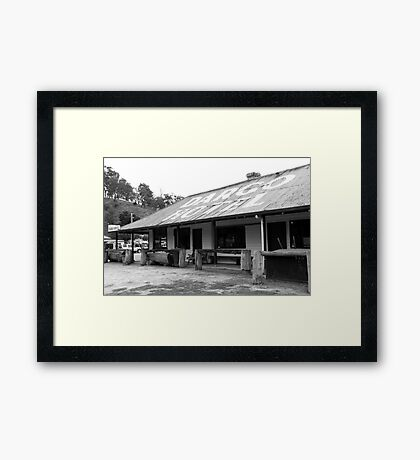 Dargo Hotel Framed Print