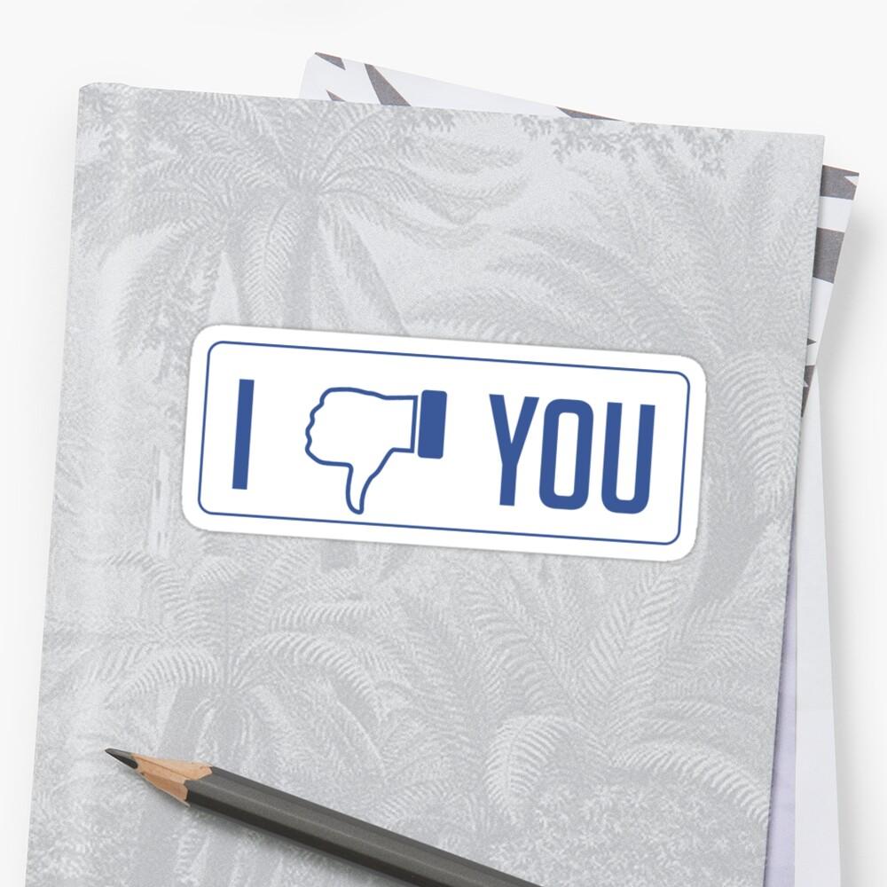 I dislike you by JW-Designs