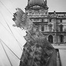 Louvre reflection by Susan Chandler