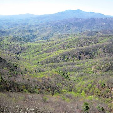 Grandfather Mountain from The Blowing Rock by HMorris