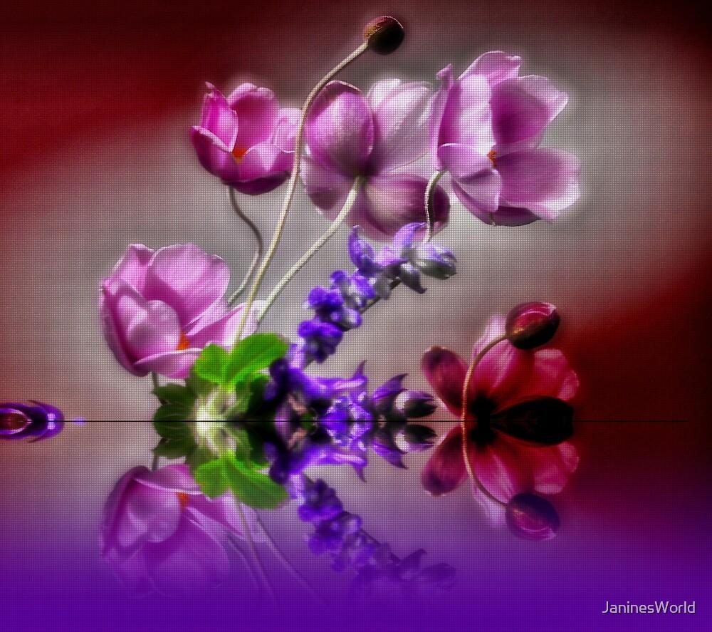 Dainty Flowers by JaninesWorld