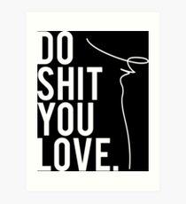 Lámina artística Gary Vaynerchuk / Gary Vee - Mierda, AMAS - BLANCO