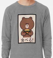 Linie Freunde - Brown Burger Leichtes Sweatshirt