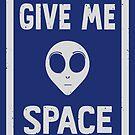 G/VE ME SPACE by Dylan Morang