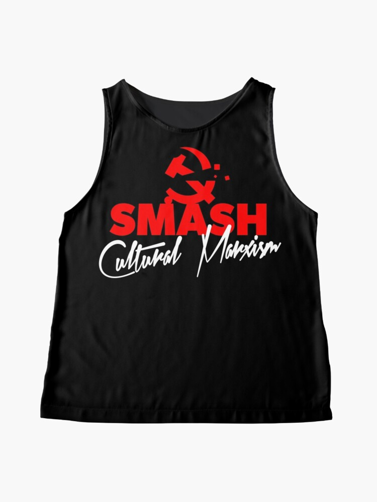 Alternate view of SMASH CULTURAL MARXISM Sleeveless Top