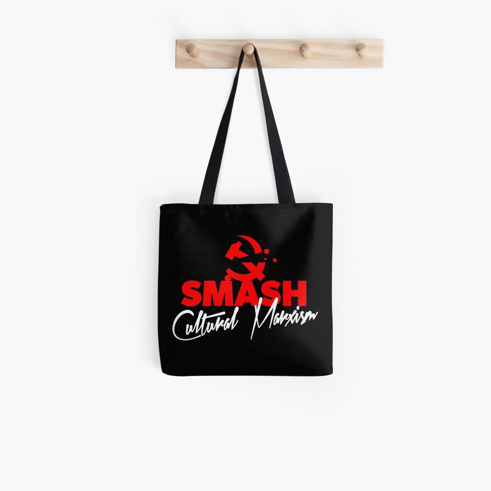 SMASH CULTURAL MARXISM Tote Bag