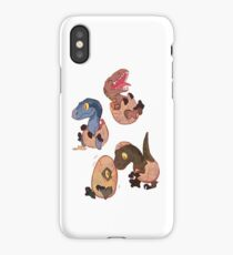 Raptor posse iPhone Case/Skin