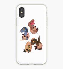 Vinilo o funda para iPhone Raptor posse