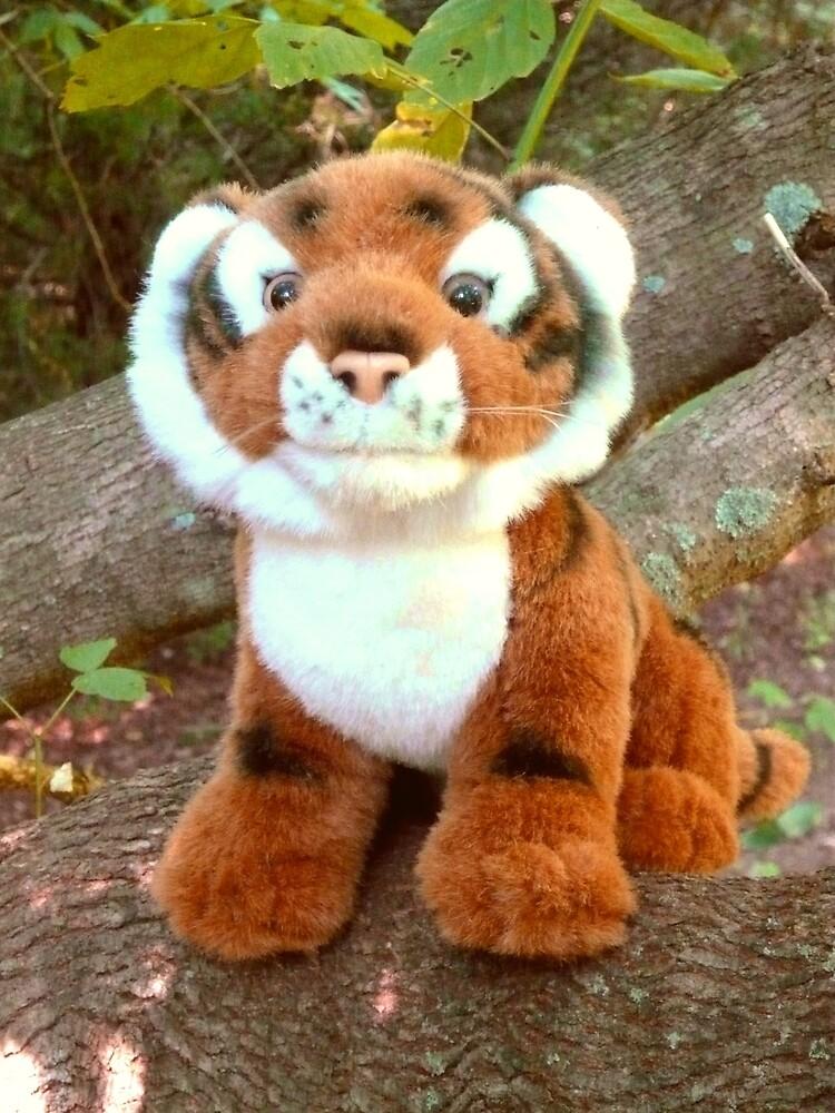 The Happy Tree Tiger by Vivian Eagleson