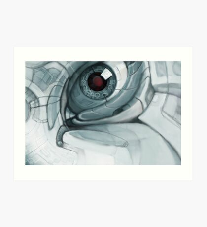 Eye of Atlantis Art Print