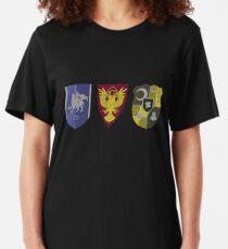 Fire Emblem Three Houses : Crests Slim Fit T-Shirt