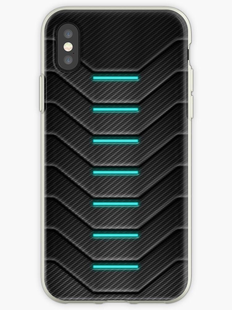 Carbon Fiber Iphone Case >> Carbon Fibre Futuristic Phone Case Iphone Cases Covers By