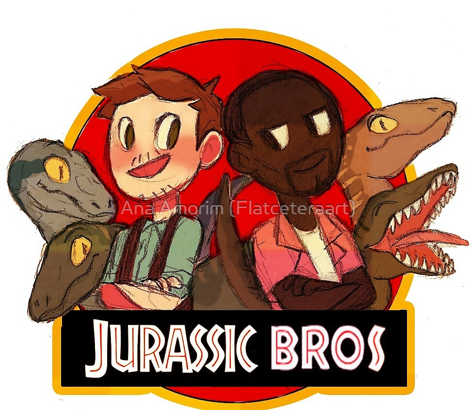 Jurassic Bros by aninhat-t